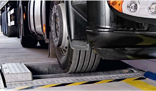 Роликовый универсальный тормозной стенд BEISSBARTH Оборудование для грузовых СТО :: MGtrans